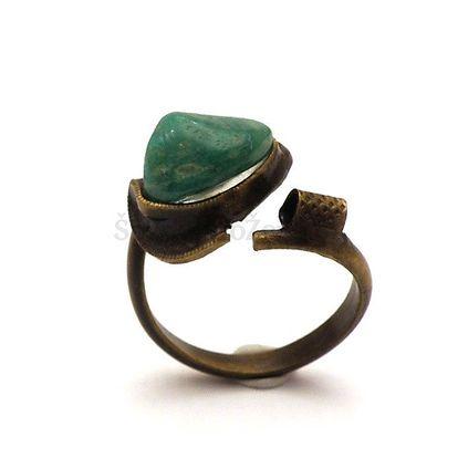 Krásný prsten s amazonitem