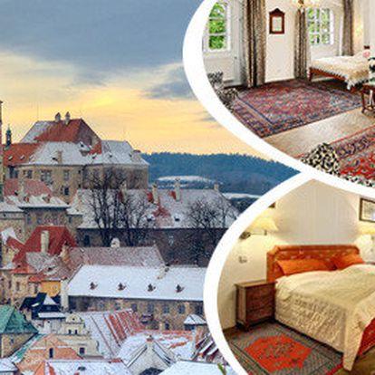 Předvánoční pobyt pro dva v Českém Krumlově v hotelu Konvice