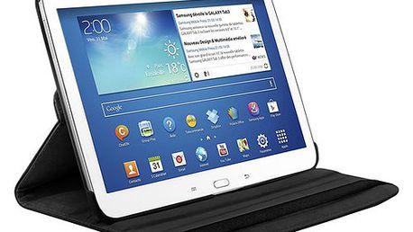 Bílé otočné pouzdro na tablet Samsung Galaxy Tab 10.1