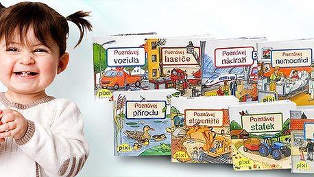 Série 10 populárně naučných PIXI knížek Poznávej svůj svět