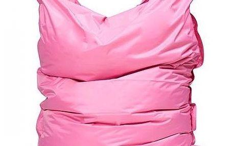 Sedací pytel Omni Bag s popruhy Pink 191x141, 191 x 141 cm
