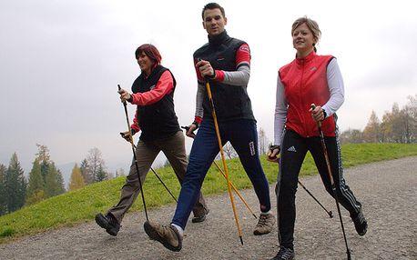Víkendový instruktorský kurz Nordic Walking na krásném zámku Konopiště! 21. -22.2.2015