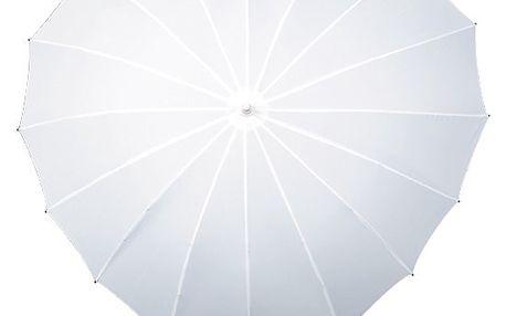 Vysoce kvalitní deštník ve tvaru srdce