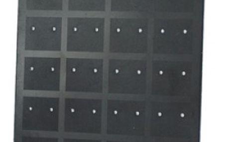 Černý stojánek na 36 párů náušnic - dodání do 2 dnů