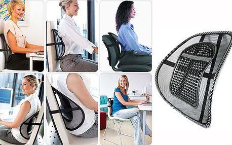 Ergonomická podložka na židli se 64% slevou