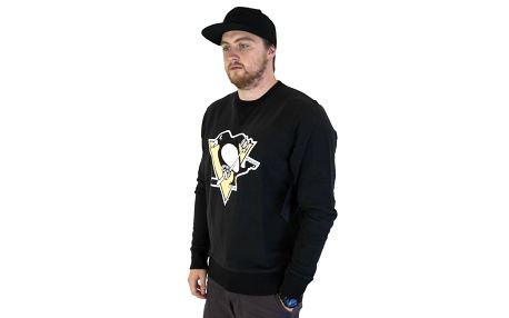 Mikina 47 Brand Co-Sign Pittsburgh Penguins Black černá