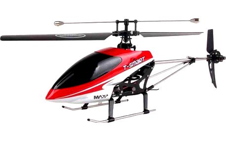 Fleg tříkanálová helikoptéra Devil GYRO