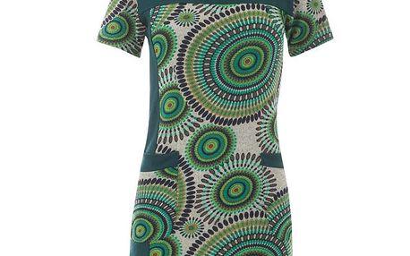 Dámské zelené šaty s rolákem Purple Jam