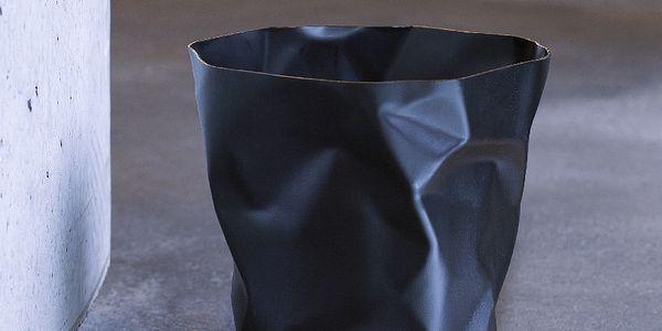 Zmačkaný odpadkový koš Essey Bin Bin Black