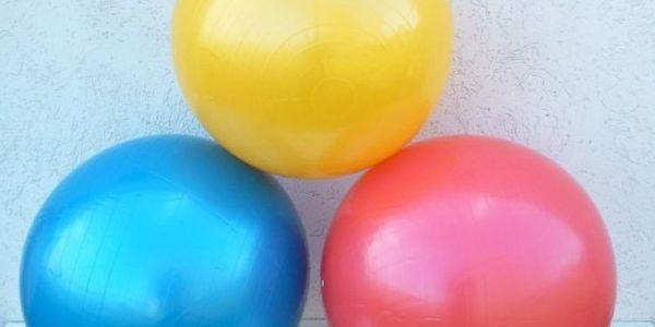 Gymnastický relaxační míč 65 cm - procvičte své tělo!