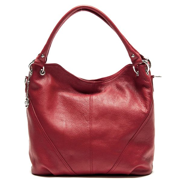 Dámská červená kabelka se dvěma uchy Roberta Minelli