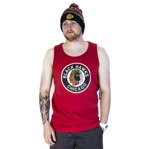 Tílko 47 Brand Sure Shot Till Dawn Chicago Blackhawks Rebound Red červená / vícebarevné L