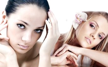 Kolagenové ošetření pleti v délce 90 minut! Včetně kosmetické masáže, barvení řas a obočí a občerstvení!