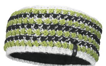 Krásná pruhovaná čelenka Womens Kira Headband od Scottu