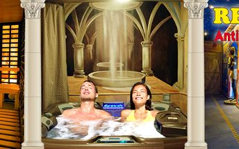 Wellness relax v antickém stylu až pro 4 osoby