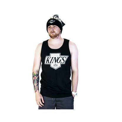 Tílko 47 Brand Sure Shot Till Dawn Los Angeles Kings Jet Black černá / bílá L