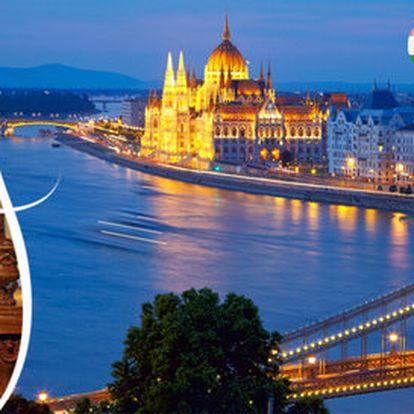 Zimní pobyt v Budapešti v oblíbeném hotelu Sissi***