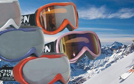 Brýle na zimní sporty pro ženy i muže