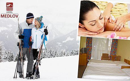 Wellness pro dva na Vysočině v Hotelu Medlov***