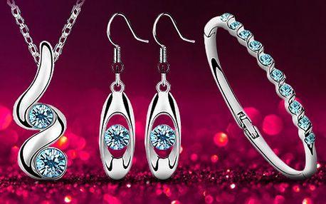 Set šperků s krystaly Swarovski Elements