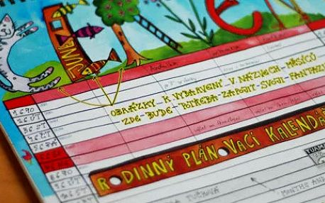 Rodinný plánovací kalendář 2015