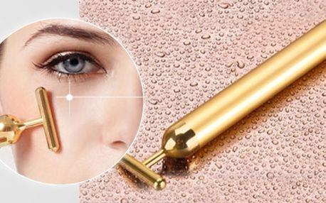 Proskin beauty bar - díky tomuto přístroji můžete vyhlazovat vrásky okolo očí, rtů, na čele i na krku. Pleť získá opět mladistvý vzhled. Na ošetření potřebujete pouze 2-3 minuty každý den, díky kterým získáte snadno pevnou a mladistvou pleť o které jste v