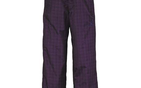 Zimní zateplené kalhoty Pant Juniors Slope dark purple plaid