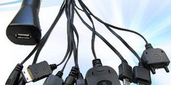 Multi USB nabíječka 10v1!