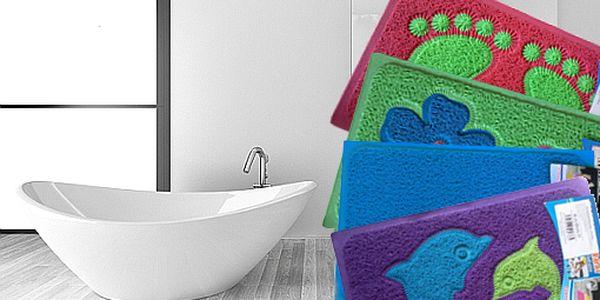 Novinka v ČR! Univerzální koupelnové předložky v 6 různých designech a 2 velikostech