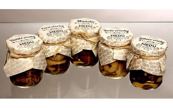 Ořechy v akátovém medu 3 x 55 ml