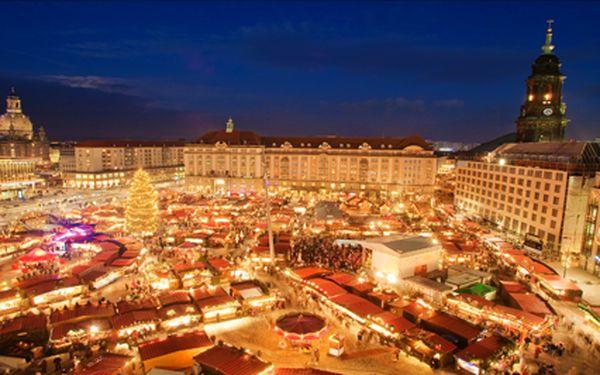 Předvánoční zájezd do adventních Drážďan. Nasajte kouzelnou atmosféru vánočních trhů a nakupte dárečky pro celou rodinu. Tři termíny: 13.12., 20.12. a 21.12.2014.