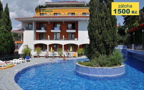 Bulharsko, oblast Slunečné Pobřeží, letecky, snídaně, ubytování v 4* hotelu na 8 dní