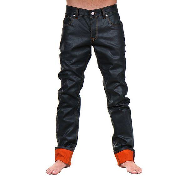 Pánské černé kalhoty Giorgio di Mare
