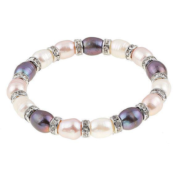 Dámský barevný perlový náramek Orchira