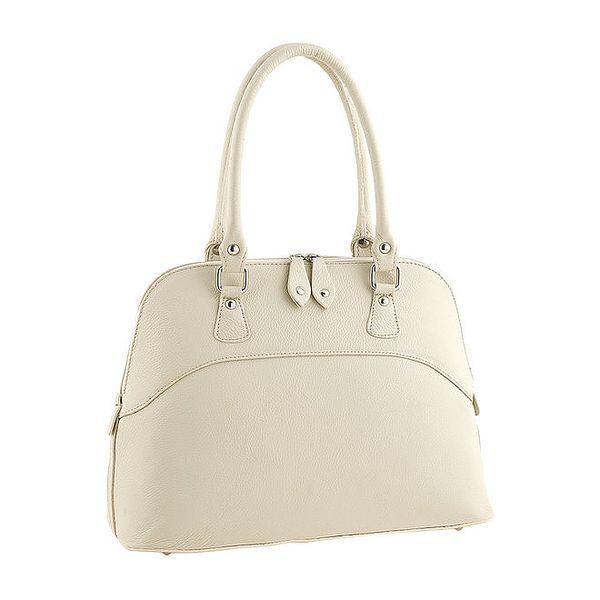 Dámská krémová kabelka Valentina Italy