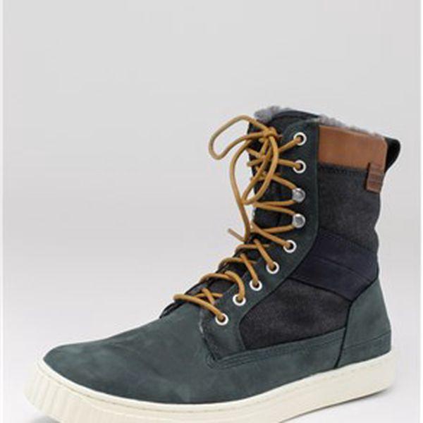 Pánské zimní boty, námoř.modrá