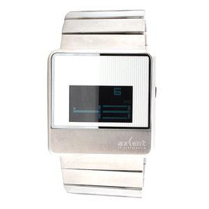 Digitální hodinky z nerezové oceli Axcent