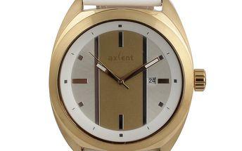 Dámské bílé analogové hodinky Axcent