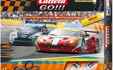 Autodráha Carrera GO!!! Power Contest