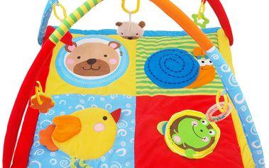 Hrací deka s hrazdou zvířátka