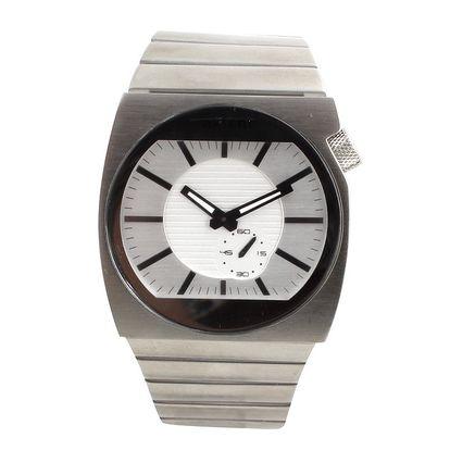 Pánské hodinky z nerezové oceli s bílým ciferníkem Axcent