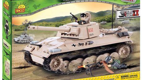 Stavebnice COBI 2447 - II. světová válka Tank Panther