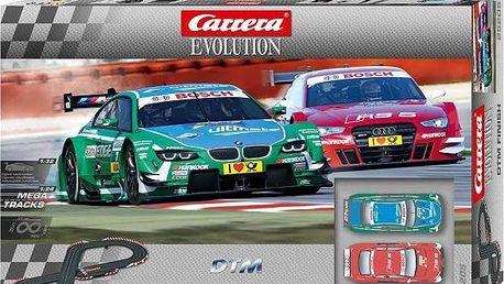 Autodráha Carrera Evolution DTM Finish + DÁREK za 199,- ALIEN TUBE + POŠTOVNÉ ZDARMA