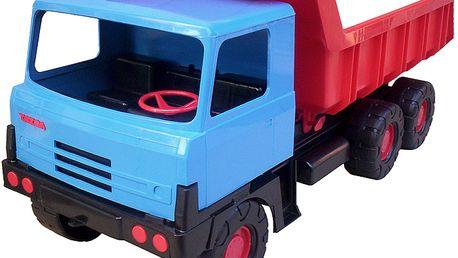 TATRA 815 na písek modrá kabina - červená korba