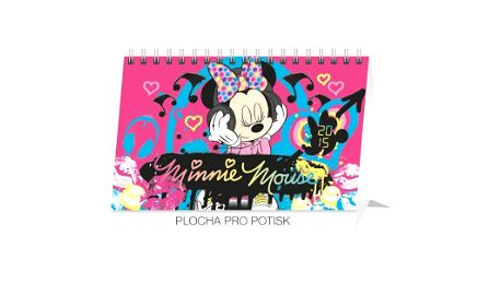 W. Disney Minnie, kalendář 2015, 23,1 x 14,5 cm