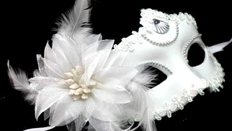 Stylová škraboška na karneval - dodání do 2 dnů