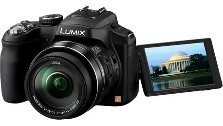 Elegantní fotoaparát Panasonic Lumix DMC-FZ200 - DMC-FZ200EP-K