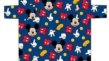 Dětská fleecová deka s rukávy (60x120cm)- Mickey Mouse