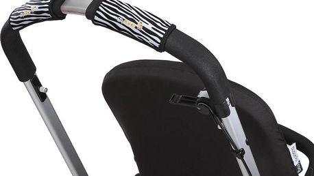 Citygrips Ochrana na kočárek jednoduchý - Zebra