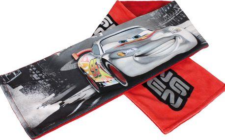 Chlapecká fleecová šála (17,5x100cm) - Cars